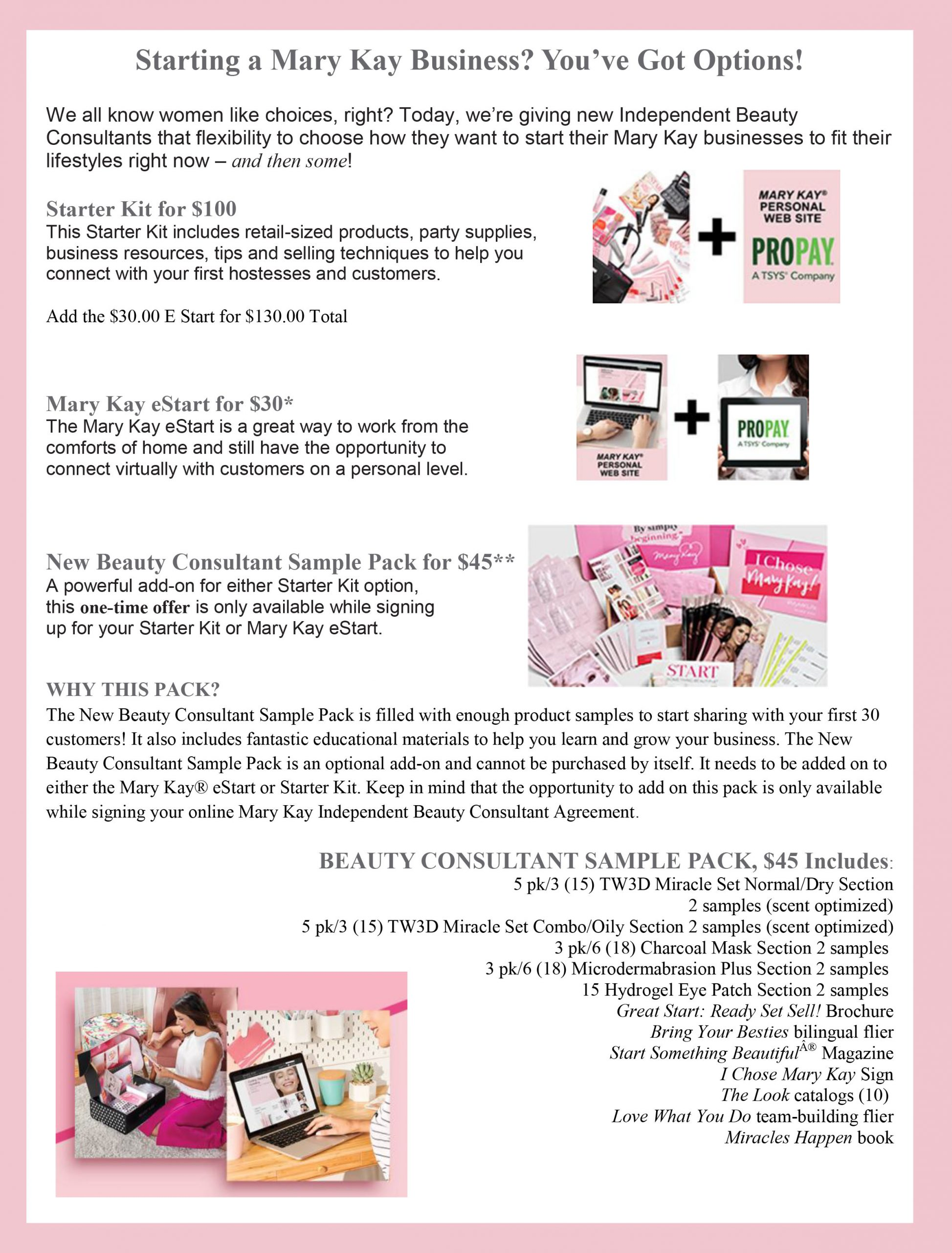 Starting a Mary Kay Business